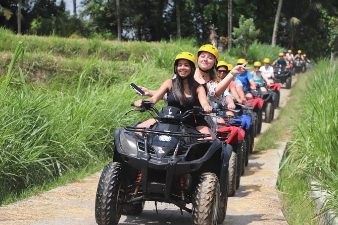 BALI BEST ATV RIDE ADVENTURE with LUNCH and PRIVATE HOTEL TRANSFER.