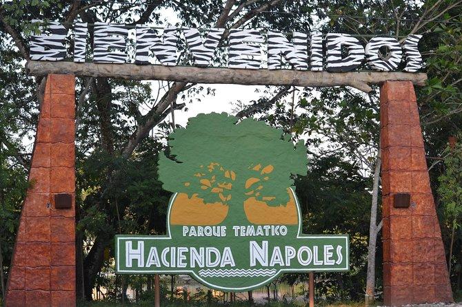 Tour to the Hacienda Nápoles Theme Park