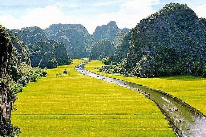Ninh Binh Tam Coc Mua Cave Trang An Hoa Lu Biking Only $32 Daily