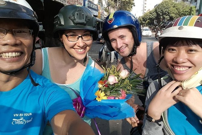 Saigon Motorbike City tour with local