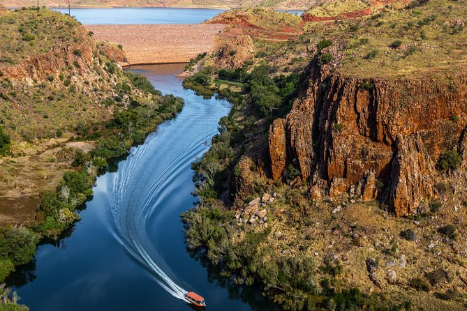 Ord River Explorer with Sunset