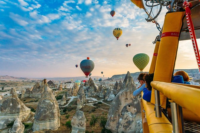 Hot Air Balloon and Best of Cappadocia City Tour