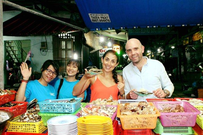 Saigon Street Food on Motorbike