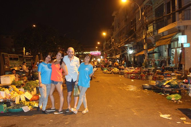 Food tour on motorbike with student