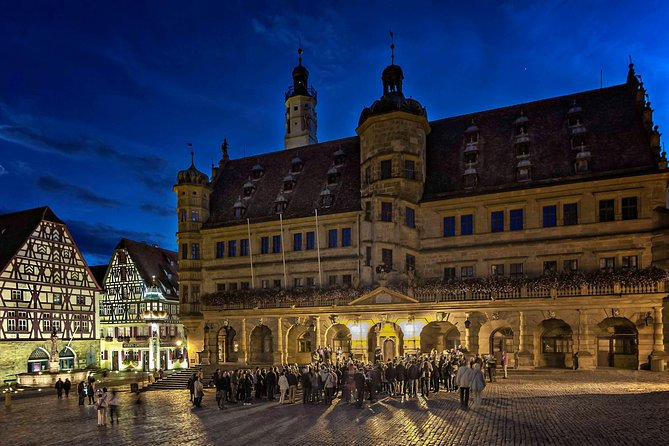 Romantic Road Day Trip from Würzburg (Main) to Rothenburg/Tauber (SATURDAY)