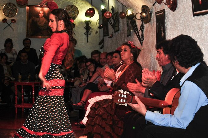 The best Tapas & Flamenco Show - City Tour, Tapas & Wine, and Flamenco Show
