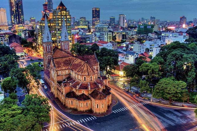 Cu Chi Tunnels and Ho Chi Minh City Full Day Trip