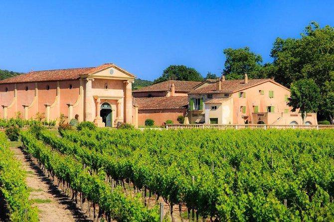 Coteaux D'Aix Ste Victoire Wine Tour - 8hours