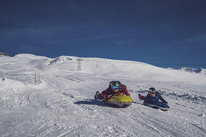 Airboard Snow Bodyboarding on Pischa Davos Switzerland