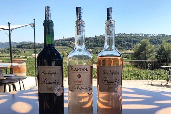 Bandol/Cassis Wine Day Tour : 8hours