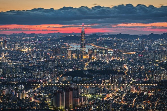 All packed Seoul - traditional houses, Seoul City view, theme park, Everland!