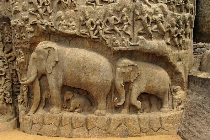 Chennai to Kanchipuram & Mahabalipuram Excursion