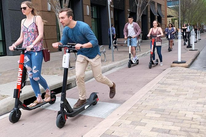E-scooter Self Guided Small Group Tour in Zagreb