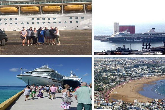 3 heurs Agadir short trip from Port (cruise ship) or hotel