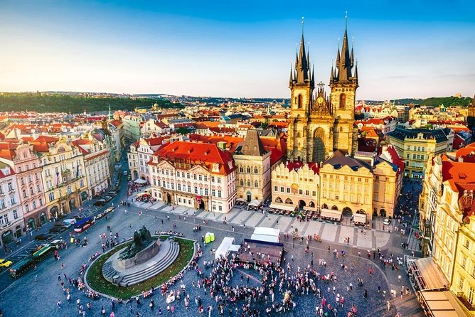 Private Airport Transfer Prague City Center to Prague Airport (PRG) - Minivan