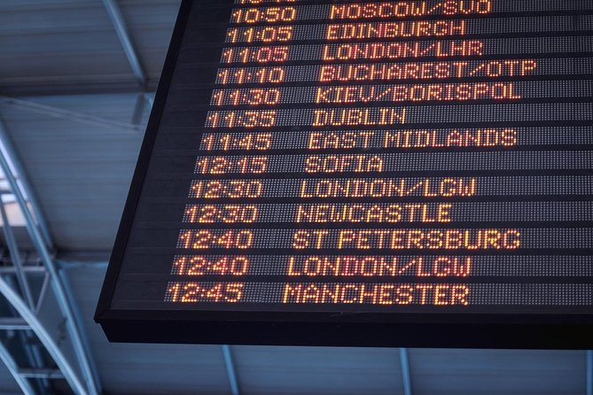 Private Cairo Airport Departure Transfer