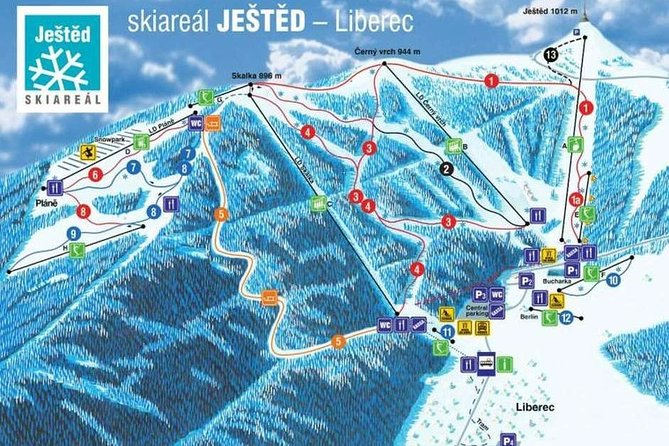 FULL DAY Skiing & Snowboarding Small Group Tour From Prague (lessons included)