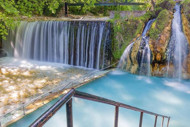 Private tour: Full day Pozar Baths & Edessa Waterfalls