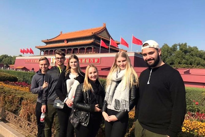 Beijing Layover Tour to Forbidden City with Dragonfly Spa