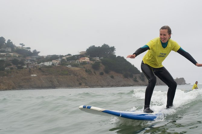 Beginner Surfing in San Francisco (Pacifica Beach) photo 3