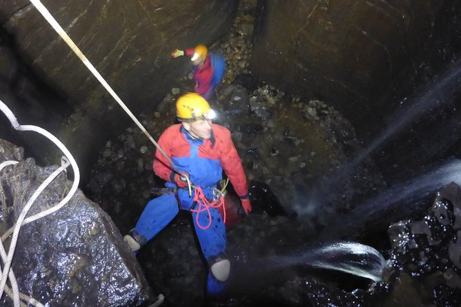 Caving Adventure in the Derbyshire Peak District