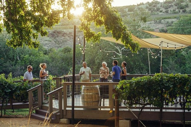 Wine Tour from Sedona to the Verde Valley Vineyards in Luxury Transportation