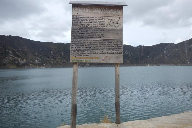 Quilotoa Lagoon First Day and One Day In The Amazon - Jungle Second Day T / I