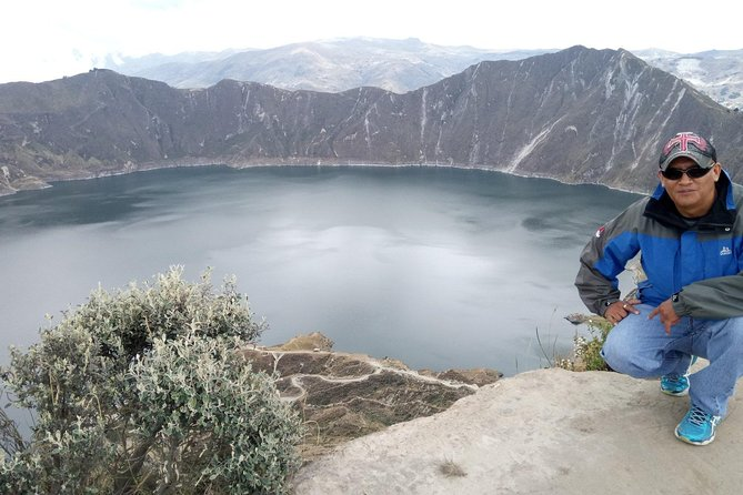 Quilotoa Lagoon - The Eighth Wonder of the World A Place of Peace