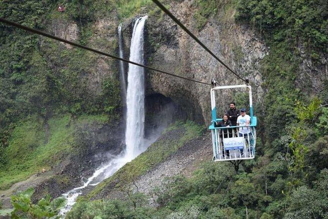 Pailón del Diablo, Waterfall Route a 3-Hour Tour in Chiva Truck