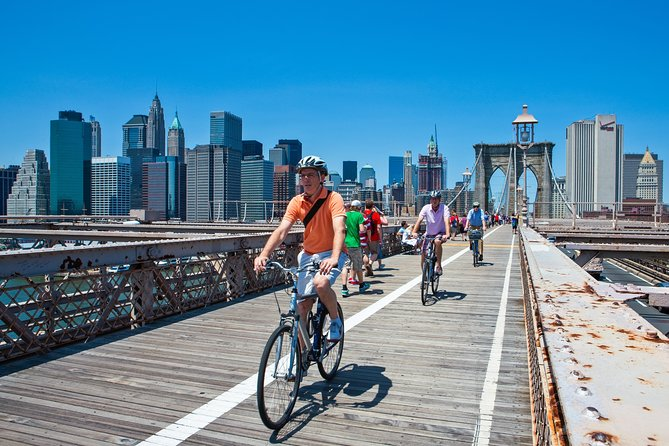 From Manhattan: Brooklyn Bridge Bike Rental