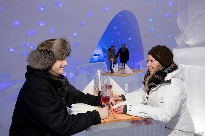 SnowVillage Visit with Entrance tickets