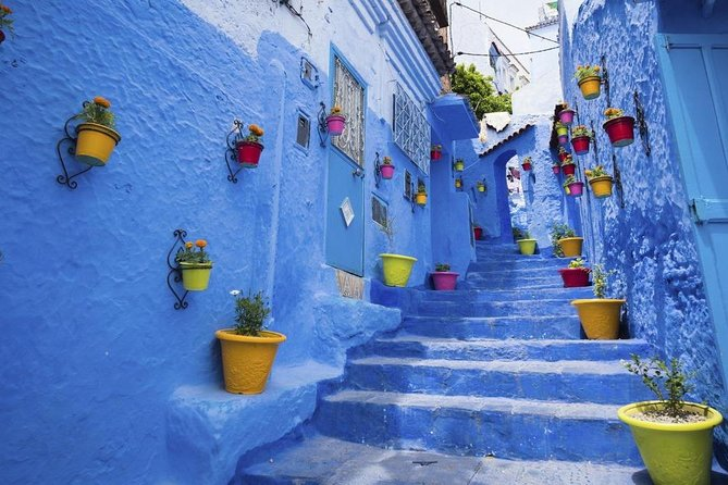 From Casablanca: Full day trip to Chefchaouen by the High Speed Train