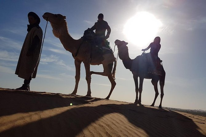 Sahara Camel Trekking - Overnight in the Camp