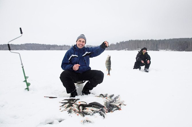 Ice Fishing in Kiruna photo 2