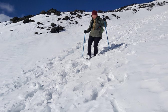 Excursion on Etna with snow