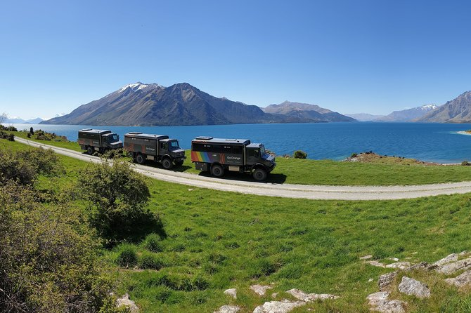 Backcountry 4WD Tour from Queenstown through Walter Peak Station