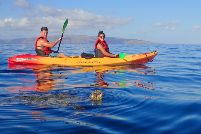 3 hour Makena Kayak Snorkel Tour w/Free Photos