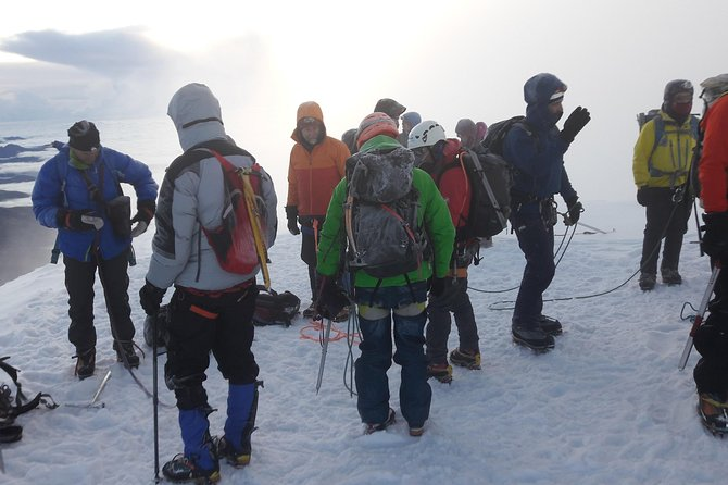 Cotopaxi Ascent to the summit