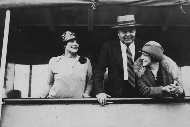 John and Mable Ringling on their boat.