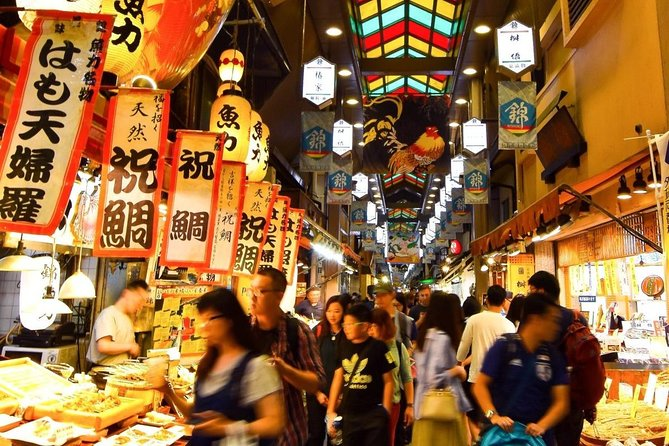 Kyoto Food & Culture Half-day Private Tour with Nationally-Licensed Guide