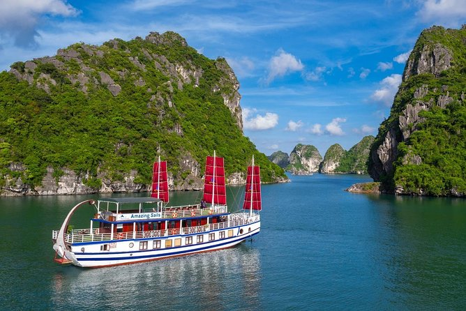 Amazing Sails - The Most Luxurious Day Tour Explore Halong Bay & Bai Tu Long Bay