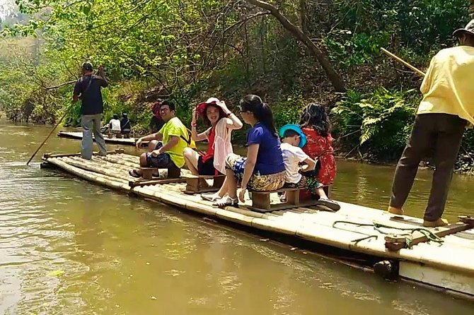 Full Day Mae Taeng Forest Reserve Adventure Tour from Chiang Mai