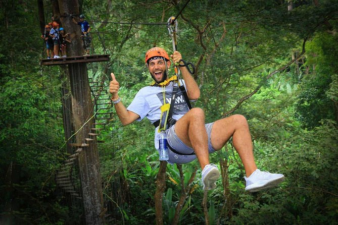 Flying Hanuman Ziplines 42 platform With Lunch & Transfer RoundTrips