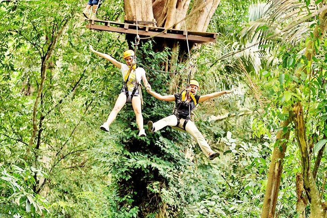 Flying Hanuman Ziplines 28 platforms & Transfer RoundTrips