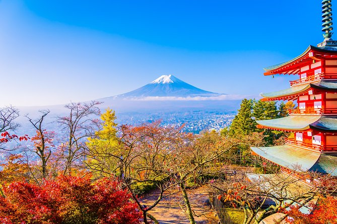 "1 Day Private Mt Fuji Sightseeing Tour Car/Van with ""English Speaking Driver"""