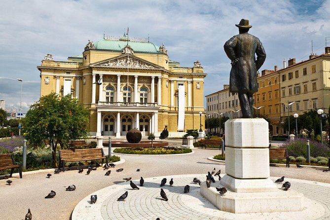 Lineaverde Package A: A Return Airport Transfer + Walking Tour Of Rijeka