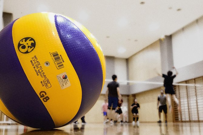 Volleyball in Osaka with local players!
