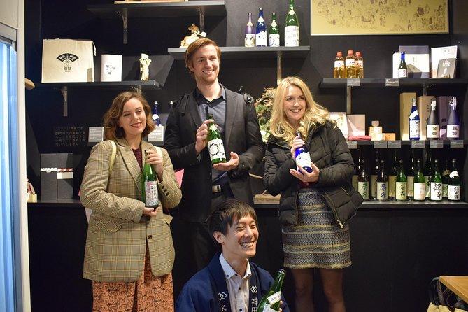 Sake Sake Beer Tour in Tokyo