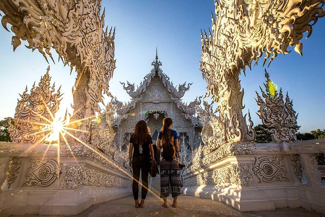 Chiang Rai One Day: Hot Spring,White Temple, Golden Triangle, Yao&Akha Hilltribe