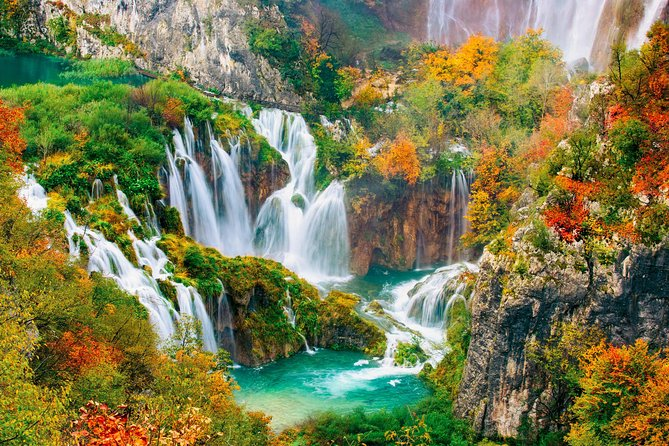 Lineaverde Package B: Return Airport Transfer + Excursion To The Plitvice Lakes